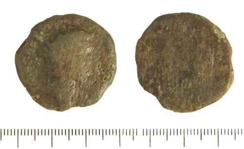LIN-4EBE16: Roman copper alloy sestertius