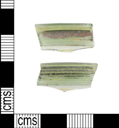 LIN-AE68C4: Anglo-Saxon glass beaker