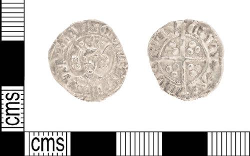 LIN-BA8816: Medieval silver penny