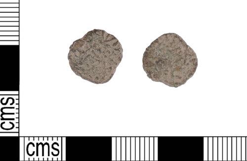 LIN-C1E195: Anglo-Saxon copper alloy styca