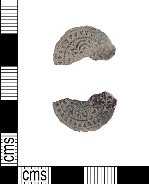 LIN-DE51F3: Medieval copper alloy jetton