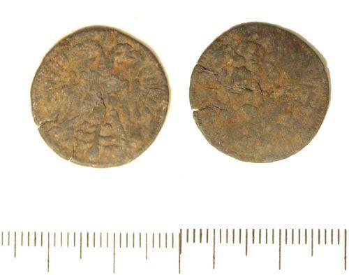 LIN-742E84: Post-medieval pewter token