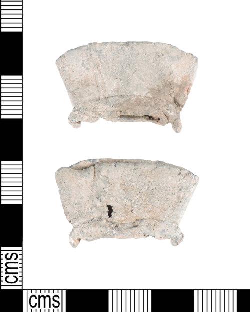 PUBLIC-7CA9AC: Medieval lead pilgrims ampulla