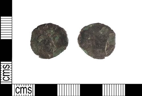 PUBLIC-8CD388: Late Roman copper alloy radiate