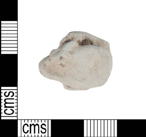 A resized image of Medieval lead pot mend