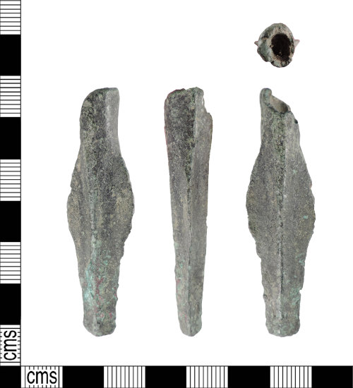 PUBLIC-A8019C: Late Bronze Age copper alloy spear