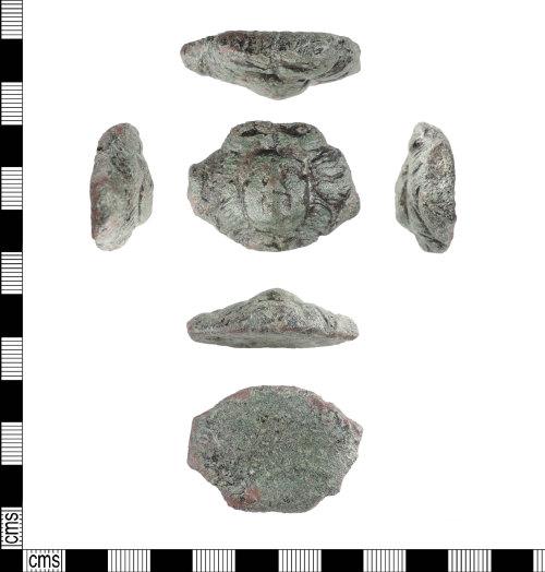 PUBLIC-BF9AD3: Roman copper alloy cherub mount