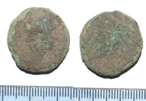 LIN-2750B1: Copper alloy as of M. Aurelius as Caesar