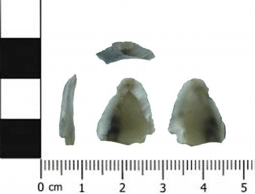 SWYOR-6FF615: Mesolithic retouched flake