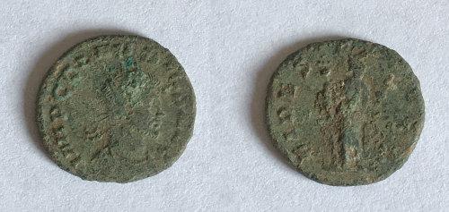 BM-6AD3FB: Roman coin: radiate of Claudius II