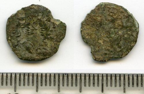 BM-86E971: Roman coin: barbarous radiate