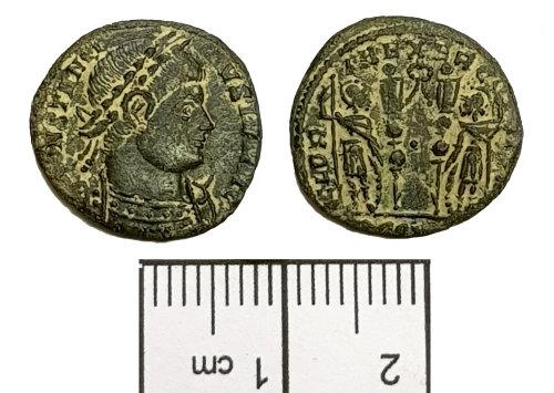 BM-996330: Roman coin: nummus of Constantine II