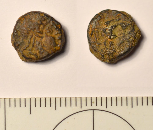 BM-AC0AA3: Roman coin: Nummus of House of Constantine