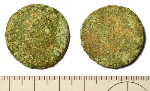 BM-D6E58D: Roman coin: as or dupondius of Vespasian