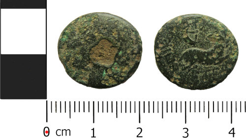 A resized image of Roman coin: provincial trichalkon, civic issue of Antioch