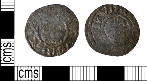 BUC-0A14C8: medieval coin:short cross penny