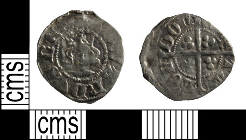 BUC-0F723B: Medieval coin: Farthing or half penny
