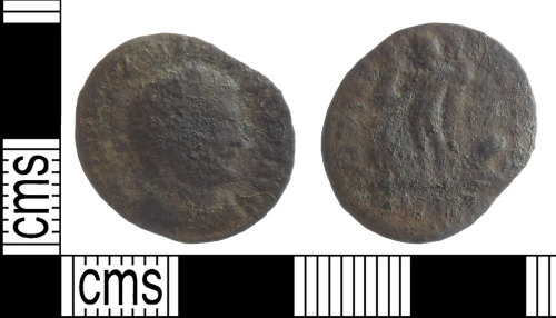 BUC-153DF8: Roman coin: nummus from the House of Constantine
