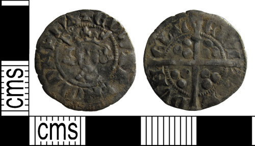 BUC-1BCE98: Medieval coin: Penny of Edward II
