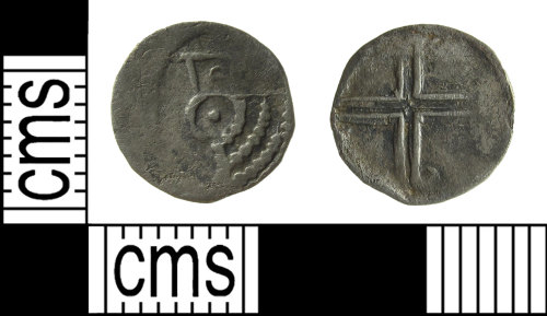 BUC-273253: Medieval coin: petit-denier of Flanders