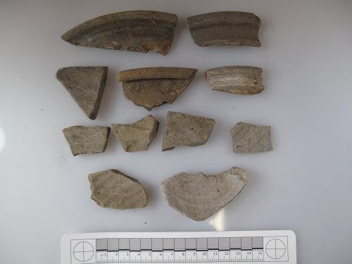 BUC-51E8C3: Roman greyware pottery