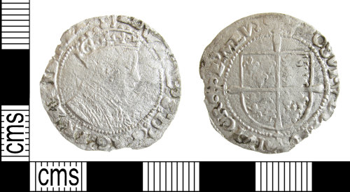 A resized image of Post medieval coin: Groat of Edward VI