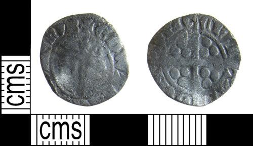 BUC-5E33DA: Medieval coin: Penny of Edward II
