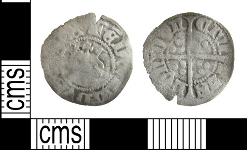 BUC-5E5EAE: Medieval coin: half penny of Edward III
