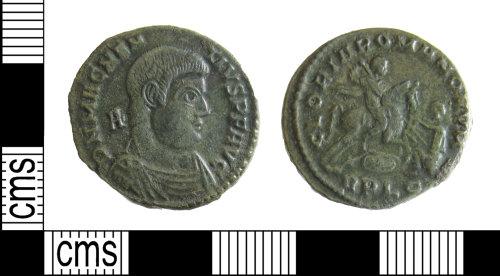 BUC-67DF21: Roman coin: Nummus of Magnentius