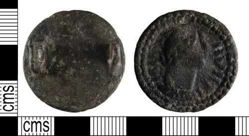 BUC-717EA7: Early medieval nummular brooch