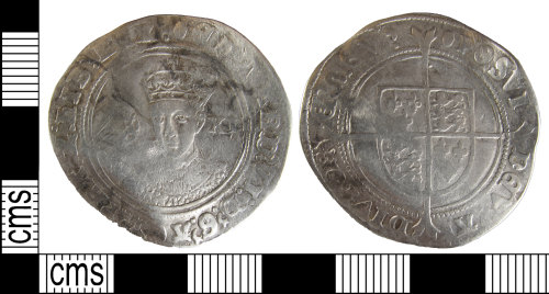BUC-773F51: Post Medieval coin: Shilling of Edward VI