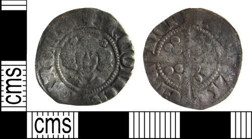 BUC-813FC5: Medieval coin: Continental Imitation