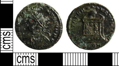 BUC-C8DBB2: Roman coin: Nummus of Constantine II