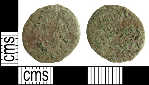 BUC-DF38AA: Roman radiate or nummus