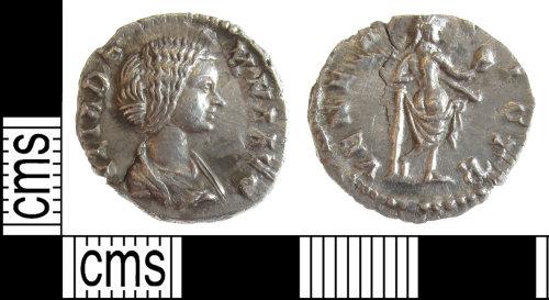 BUC-E21FC2: Roman coin: Denarius of Julia Domna