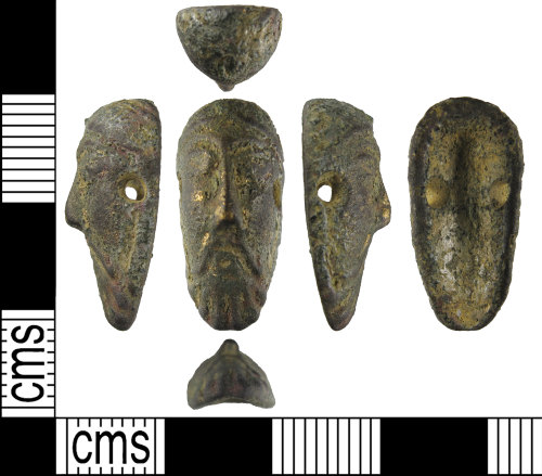 BUC-E57F8B: Early Medieval mount