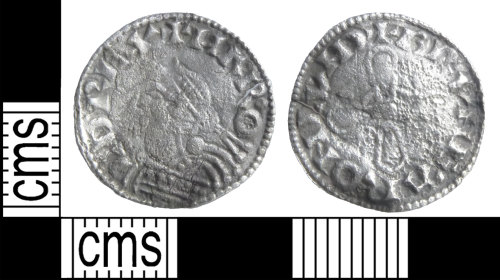 BUC-E6BBF5: Early Medieval Coin: Penny of Harold I