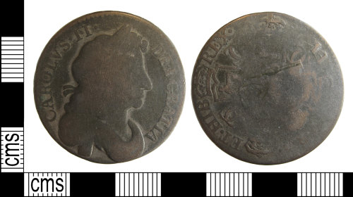BUC-EAE5DC: Post medieval coin: Charles II