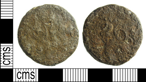 BUC-F15663: Post medieval coin weight