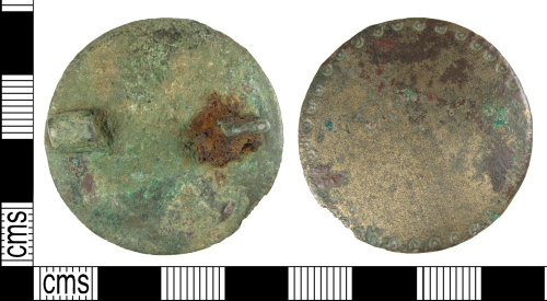 BUC-FF6074: Early Medieval plate brooch