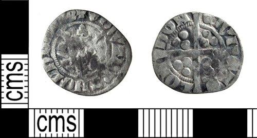PUBLIC-0BFC4E: Edward II penny front and back
