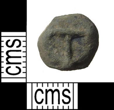 PUBLIC-21C77E: post medieval token front