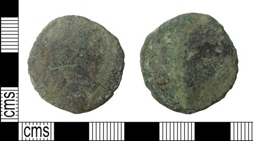 PUBLIC-4401D7: Roman coin front and back