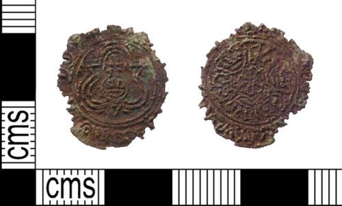 PUBLIC-1C8BBC: post medieval jetton front and back