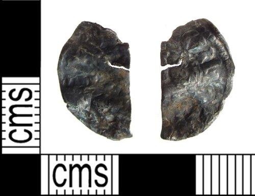 PUBLIC-B87CC1: medieval cut half penny