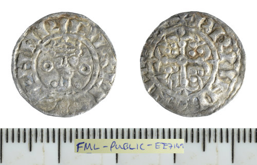 PUBLIC-EE7149: Medieval coin: silver penny of Henry I