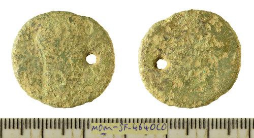 SF-4640C0: Roman coin: copper-alloy As struck for Hadrian