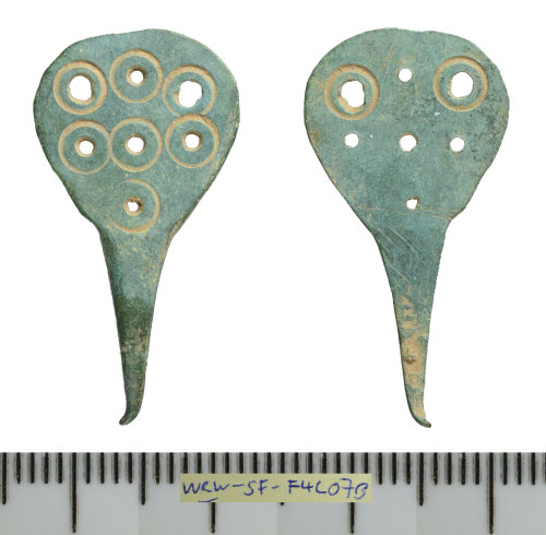SF-F4C07B: Early Medieval hooked tag