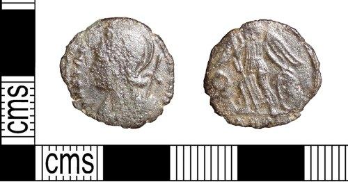 LVPL-E3E82C: Roman Coin: Nummus of the house of Constantine