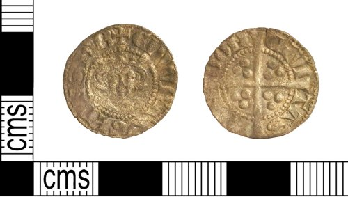 LVPL-F28806: A Medieval hammered silver penny of Edward I